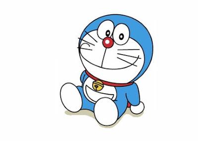 Bé và Doraemon