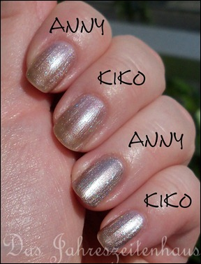 dupe kiko 303 vs anny it-girl 12