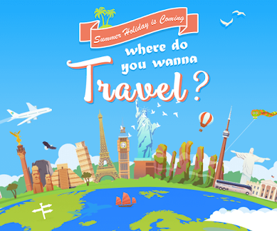 Where do you wanna travel this summer Share with us your dream destination