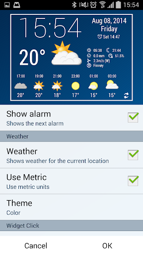 【免費生產應用App】Simple Time & Weather Widget-APP點子