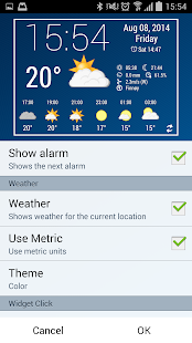 Simple Time & Weather Widget - screenshot thumbnail