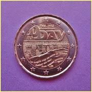 2014 Francia 2 Euros Desembarco Normandía