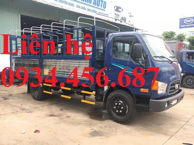 Xe tải Hyundai 110s 7 tấn thùng bạt