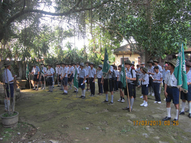 TraiDungThuaThioem2013 01 BHD GĐPT Thừa Thiên tổ chức Trại Dũng năm 2013