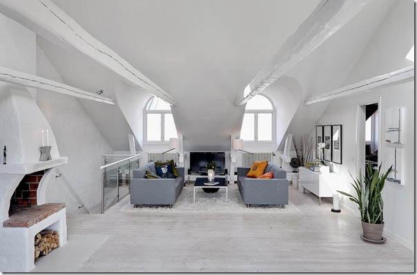 case e interni - casa svedese - Stoccolma - bianco (1)