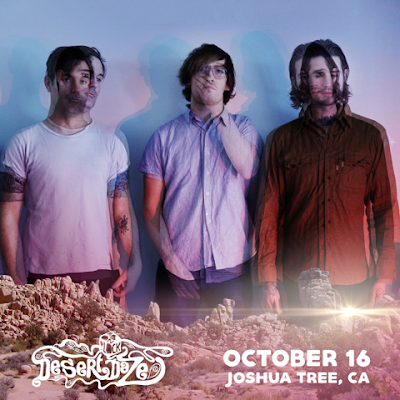 Excited to be playing Desert Daze in Joshua Tree on October 16
