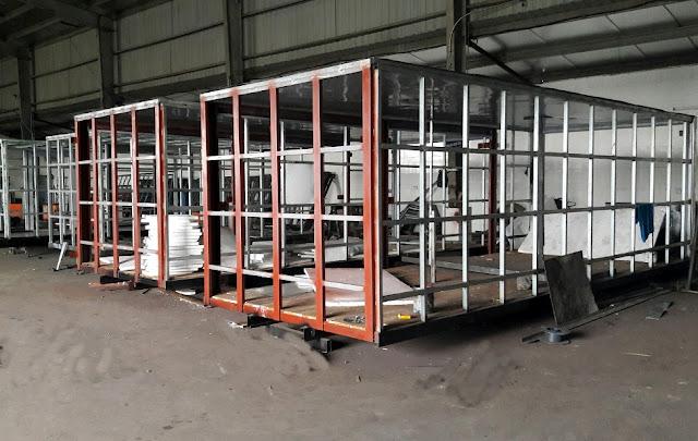 Thiết kế đóng mới thùng xe tải Hyundai