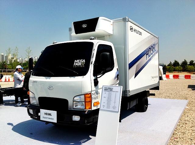 Xe tải 1,9 tấn Hyundai HD36L Thành công