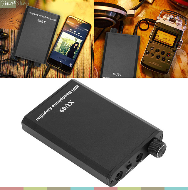 XU09 Headphone amplifier
