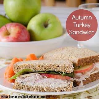 Autumn Turkey Sandwich.