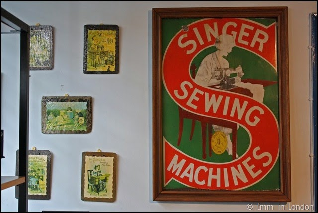 London Sewing Machine Museum - vintage signage