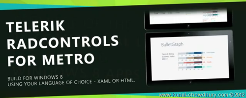 Telerik RadControls for Windows 8 Metro - XAML or HTML