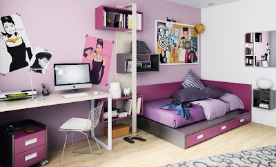 Dormitorio muy femenino Niko de Kibuc