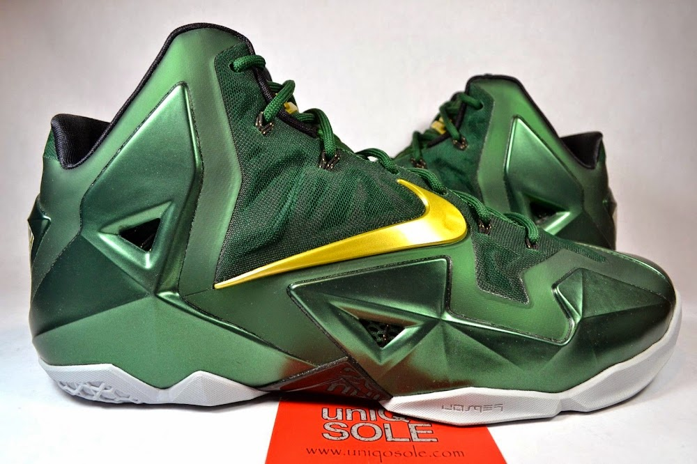 6ce3843eddff8 Nike LeBron 11 8211 SVSM Away 8211 Detailed Look ...
