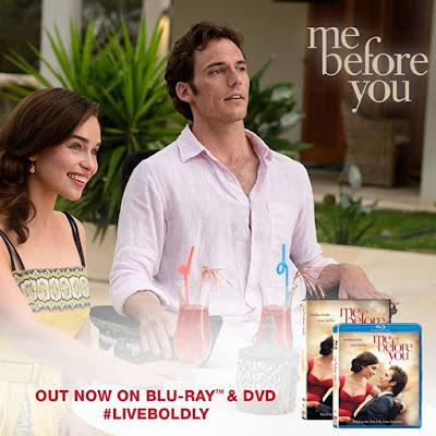 Me Before You now available instore on BluRay DVD mebeforeyou LiveBoldly LiveWell JustLive