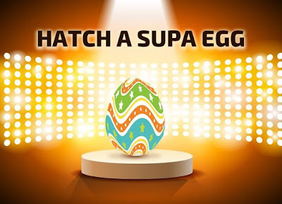 Now on APUS CLUB warm the egg with the temperature from your