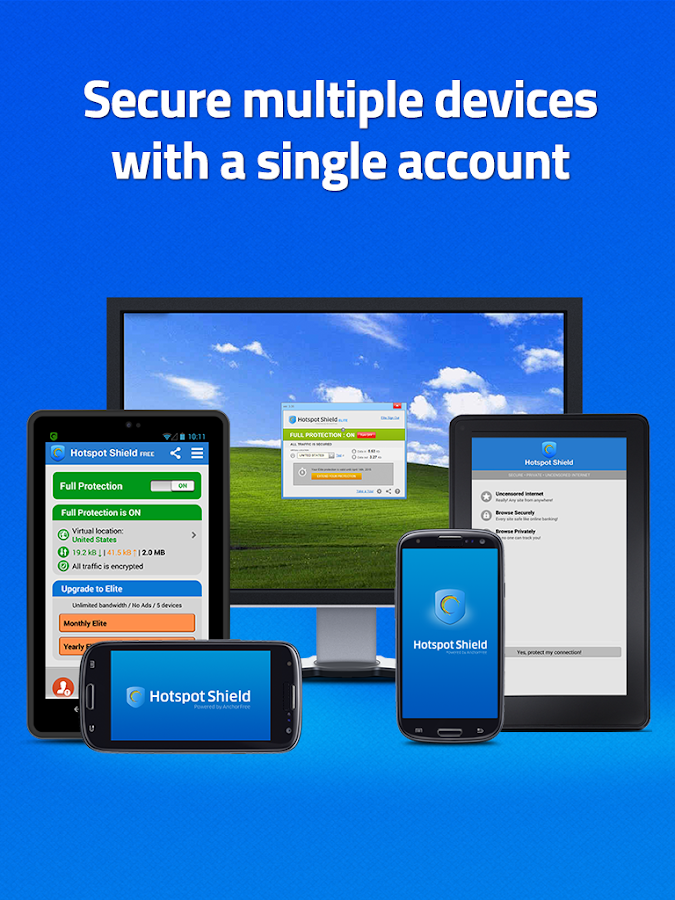 Hotspot Shield VPN for Privacy - screenshot