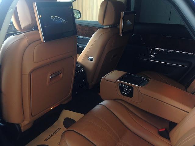 Nội thất xe Jaguar XJL Premium Luxury LWB 03
