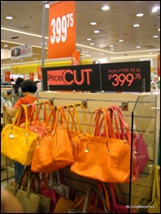 SM Southmall's TheBigSale: Bags Section