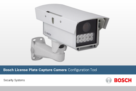 License Plate Capture Camera