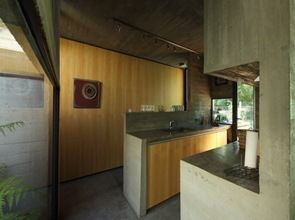 cocina moderna muebles de hormigón visto