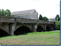 1667 Pennsylvania - Downington, PA - Lincoln Highway - 1921 concrete arch bridge over Brandywine Creek