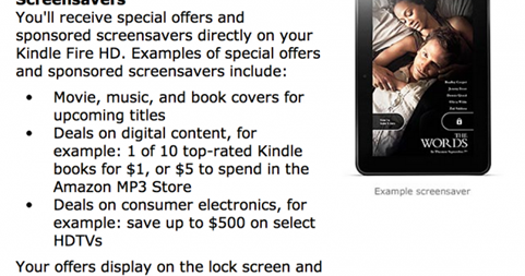 All New Kindle Fire Tablets to 'Feature' Ads on Lock Screen