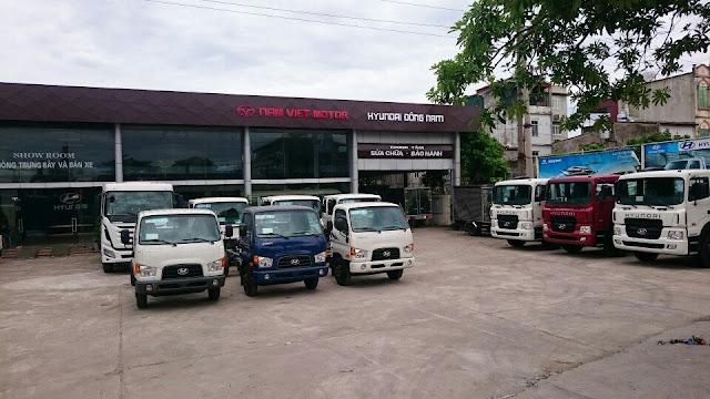 Địa chỉ bán xe tải Hyundai Đông Nam