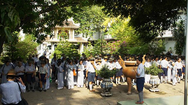 DSC06292 Lễ Hiệp kỵ   Lễ Huý Nhật Cư sĩ Sáng lập viên GĐPT Việt Nam   Tâm Minh Lê Đình Thám
