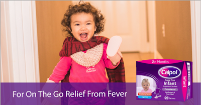 Dont let pain and fever stop you and your baby exploring the