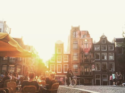 Just a regular summer day in Amsterdam Sun Terrace who is coming