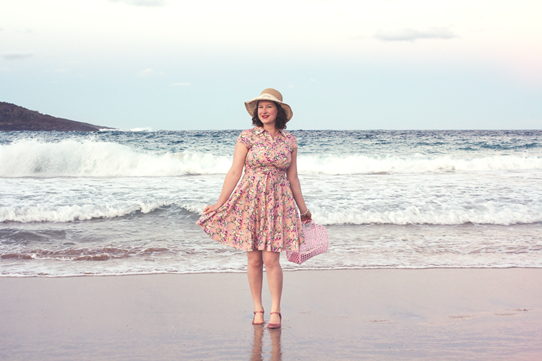 Fun in the surf with jelly sandals and a jelly purse | Lavender & Twill