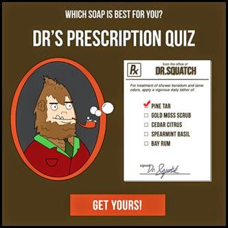 Dr. Squatch Quiz