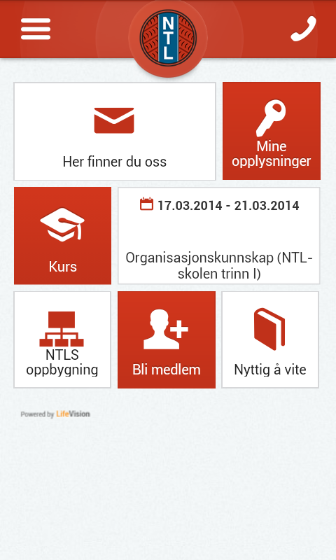 NTL Norge- screenshot