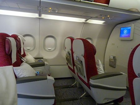 Clasa business Qatar Airways
