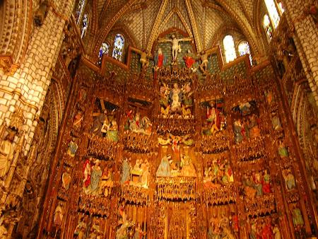Imagini Spania: catedrala Toledo