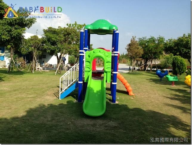 兒童遊具完工