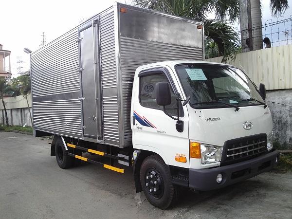 Hyundai 3,5 tấn thùng kín