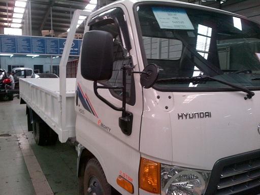 Xe tải HD120s thùng lửng