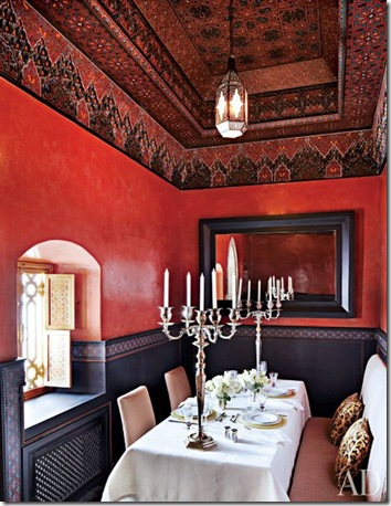 Dining room Morocco