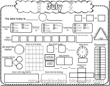 growing kinders it s calendar time. Black Bedroom Furniture Sets. Home Design Ideas