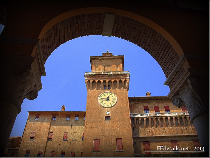 Happy Birthday Castello Estense! Ferrara, Italy, Photo3