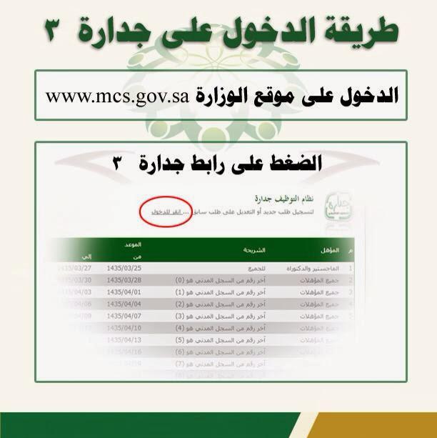 جدارة 3 للتوظيف الحكومي 1440 رابط مباشر للتسجيل 2019 أخبار السعودية