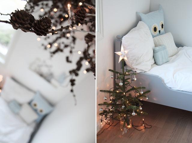 ideas decoracion navidad habitaciones infantiles