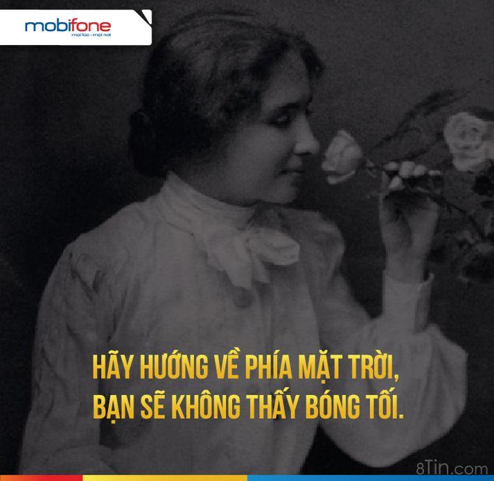 Helen Keller là nữ văn sĩ, nhà hoạt động xã hội nổi
