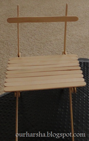 Popsicle sticks Chair (22)