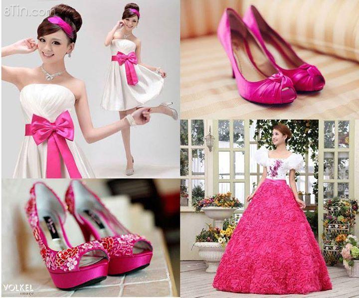 Lady in pink www.cuoihoivieitnam.com
