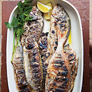 Riba na Rostilju (Whole Grilled Fish with Lemon)