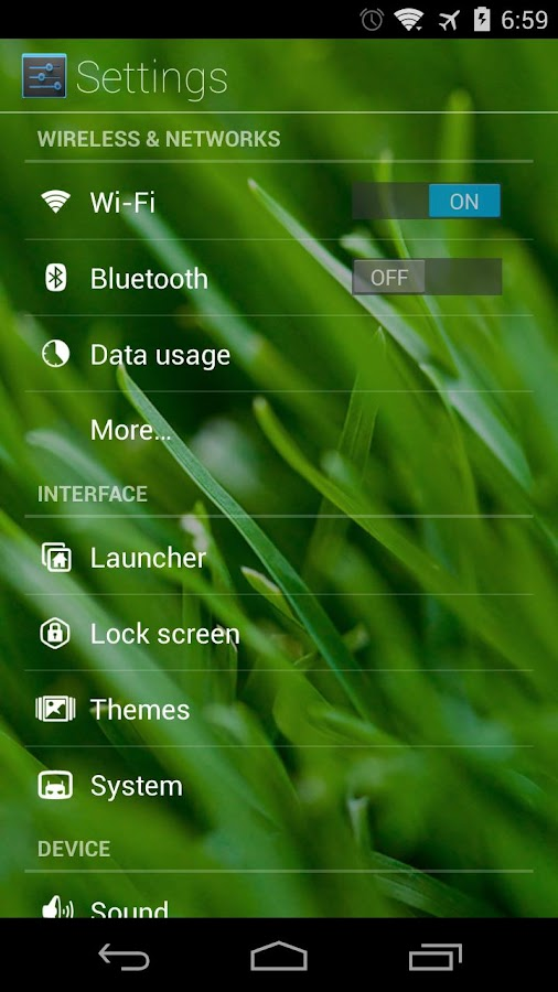 HoloGlass Theme [Beta]- screenshot