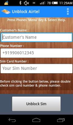 Beta Developers Inc : Download Airtel Sim Unblocker App v 1 0 apk